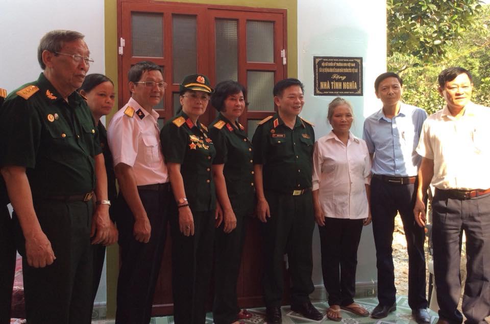 Hội Nữ chiến sỹ Trường Sơn Việt Nam, Câu lạc bộ Nữ Doanh nhân Trường Sơn tặng nhà tình nghĩa