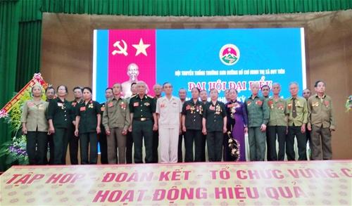 Đại hội nhiệm kỳ II Hội Trường Sơn thị xã Duy Tiên - Hà Nam