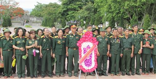 Hội Trường Sơn Bắc Giang thăm chiến trường xưa