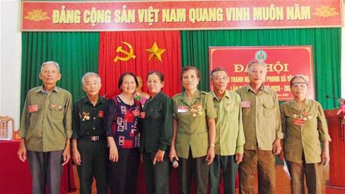 Đại hội lần thứ nhất Hội Cựu TNXP xã Yên Dương - Hà Trung - Thanh Hóa