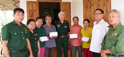 Tổng hợp nhanh kết quả vận động tặng quà Tết cho các đối tượng hội viên