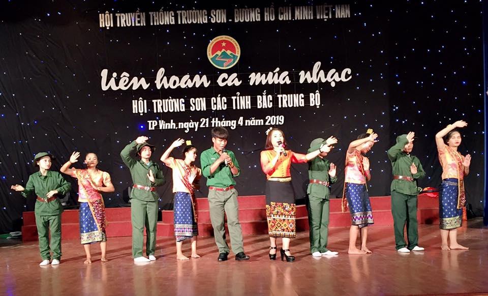 Liên hoan Ca- Múa-Nhạc Hội Trường Sơn các tỉnh  Bắc Trung Bộ