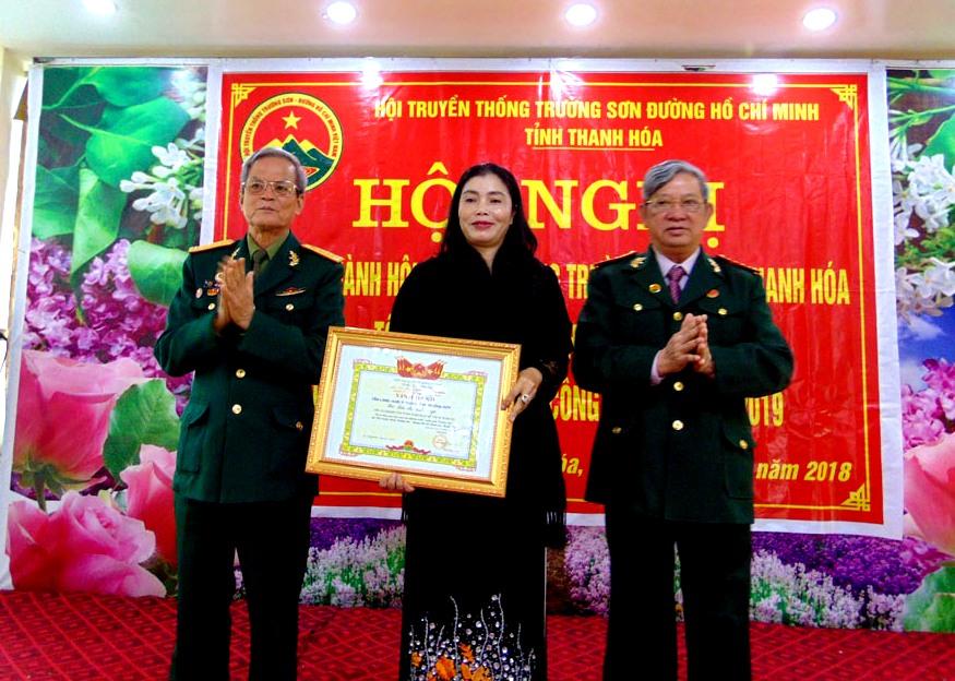 Hội Trường Sơn tỉnh Thanh Hoá tổng kết công tác Hội năm 2018 và phương hướng nhiệm vụ năm 2019