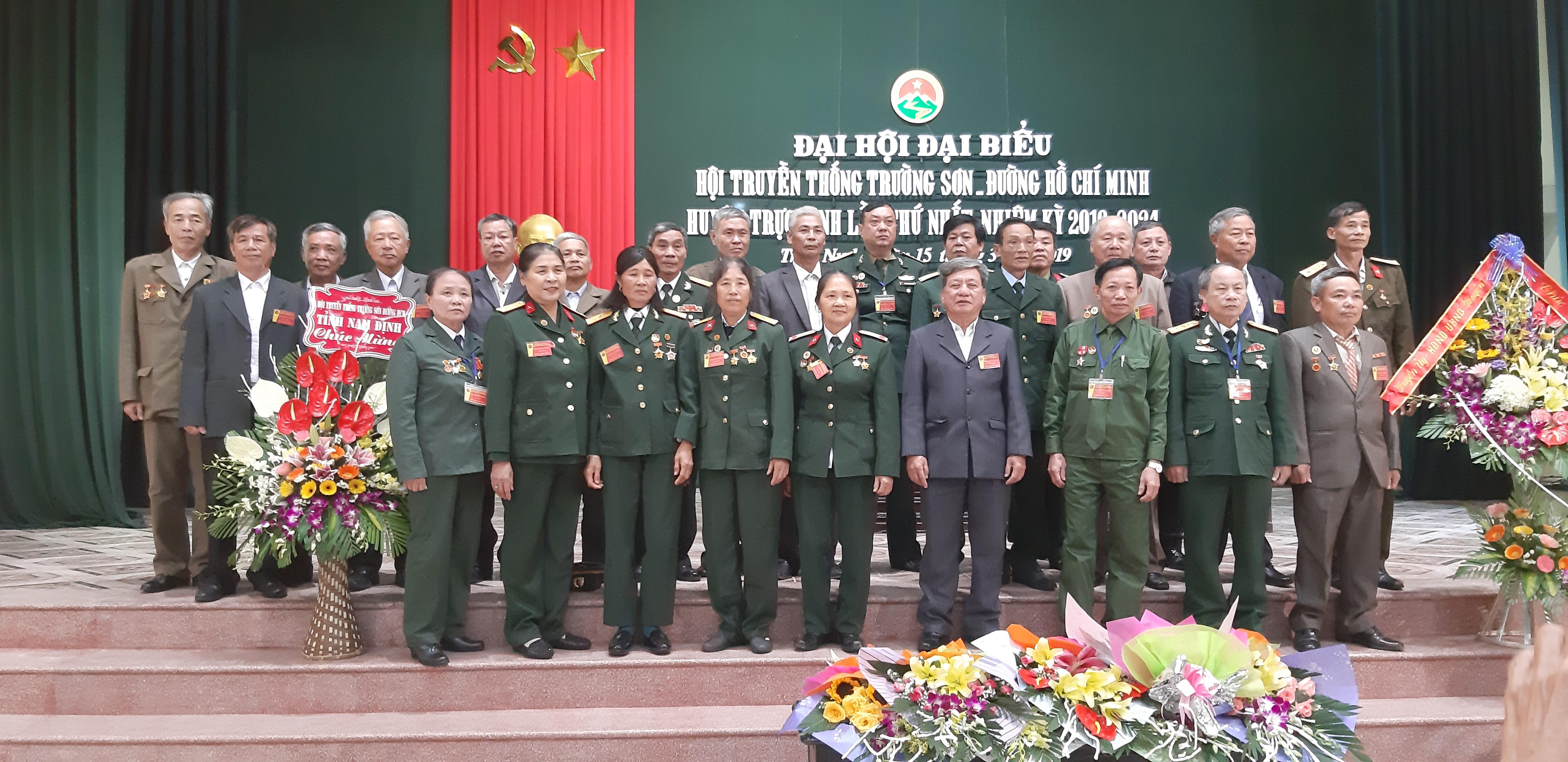 Đại hội Hội Trường Sơn huyện Trực Ninh lần thứ nhất  2019-2024