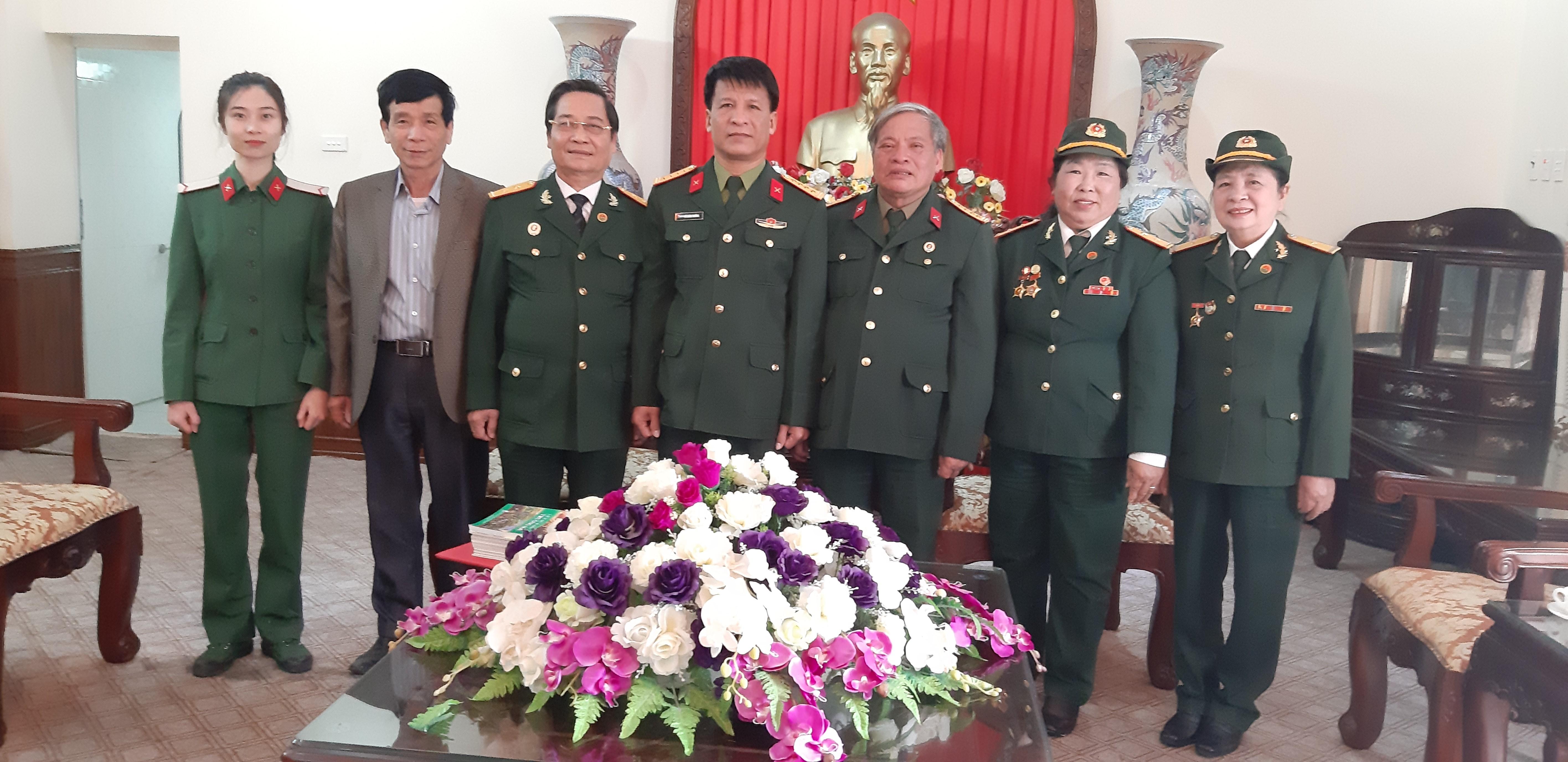 Hội Trường Sơn Nam Định làm việc với Ban Tuyên giáo Tỉnh ủy  và Tỉnh đội về kỷ niệm 60 năm ngày mở đường Hồ Chí Minh