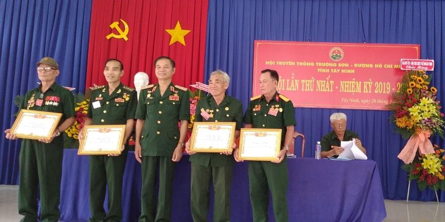 Đại hội Hội Trường Sơn tỉnh Tây Ninh lần thứ nhất, nhiệm kỳ 2019-2024