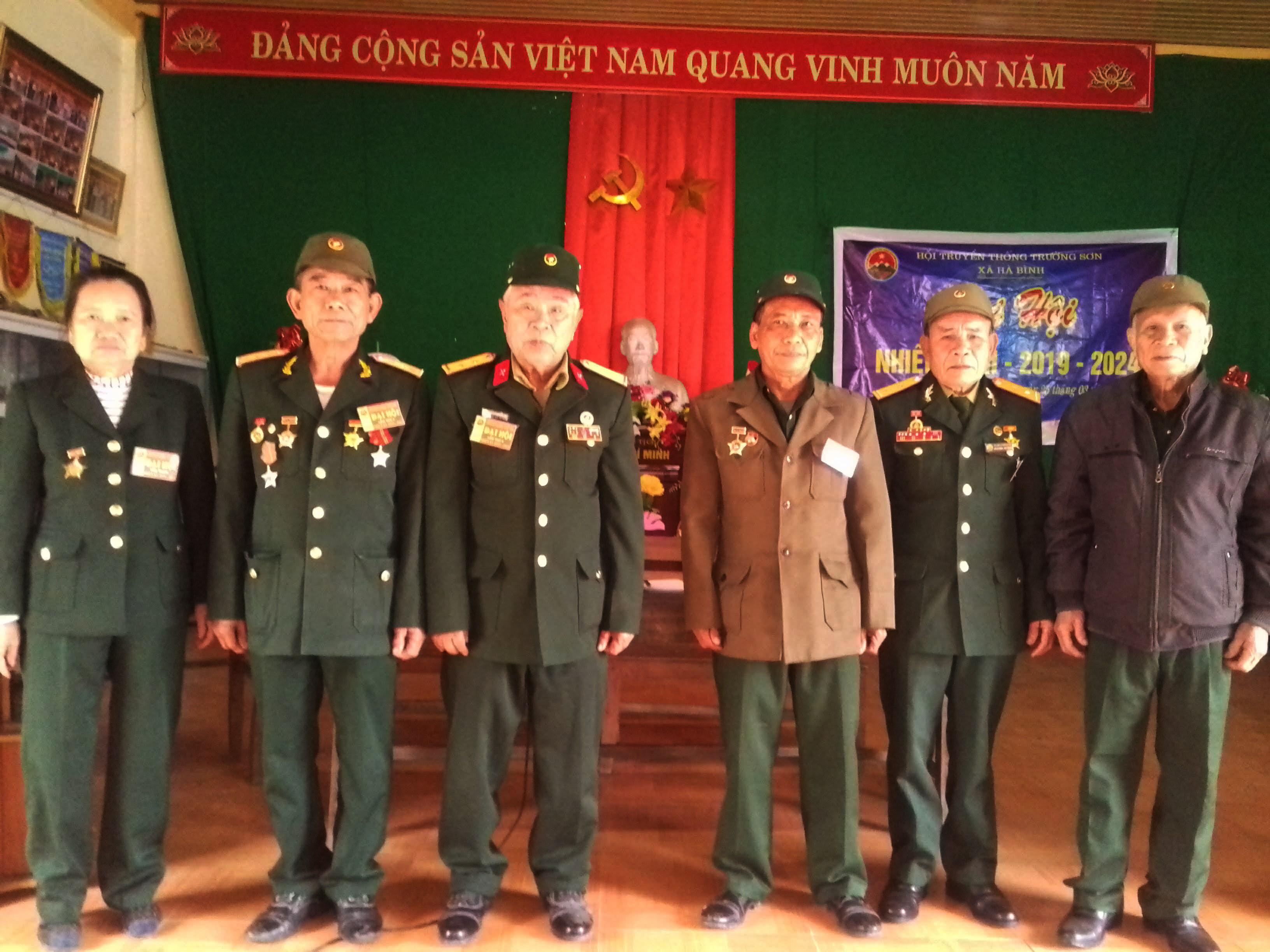 Đại hội Hội Trường Sơn xã Hà Bình,huyện Hà Trung,Thanh Hóa