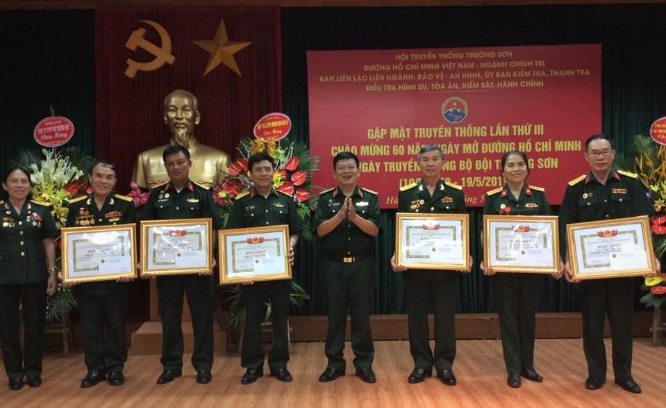 Hội truyền thống Trường Sơn Ngành Chính trị Kỷ niệm 60 năm Ngày truyền thống Bộ đội Trường Sơn