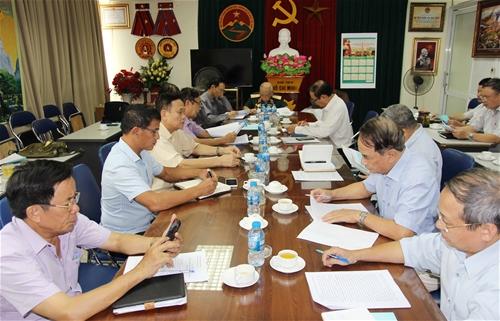 Lãnh đạo Hội Trường Sơn Việt Nam làm việc với Hội truyền thống Trường Sơn Sư đoàn 473