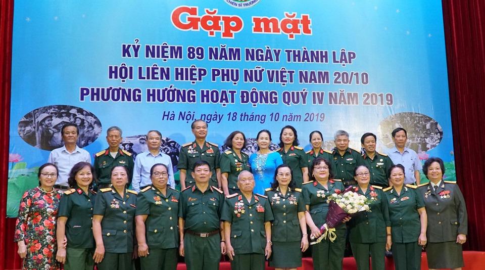 Hội Nữ chiến sĩ Trường Sơn Việt  Nam gặp mặt