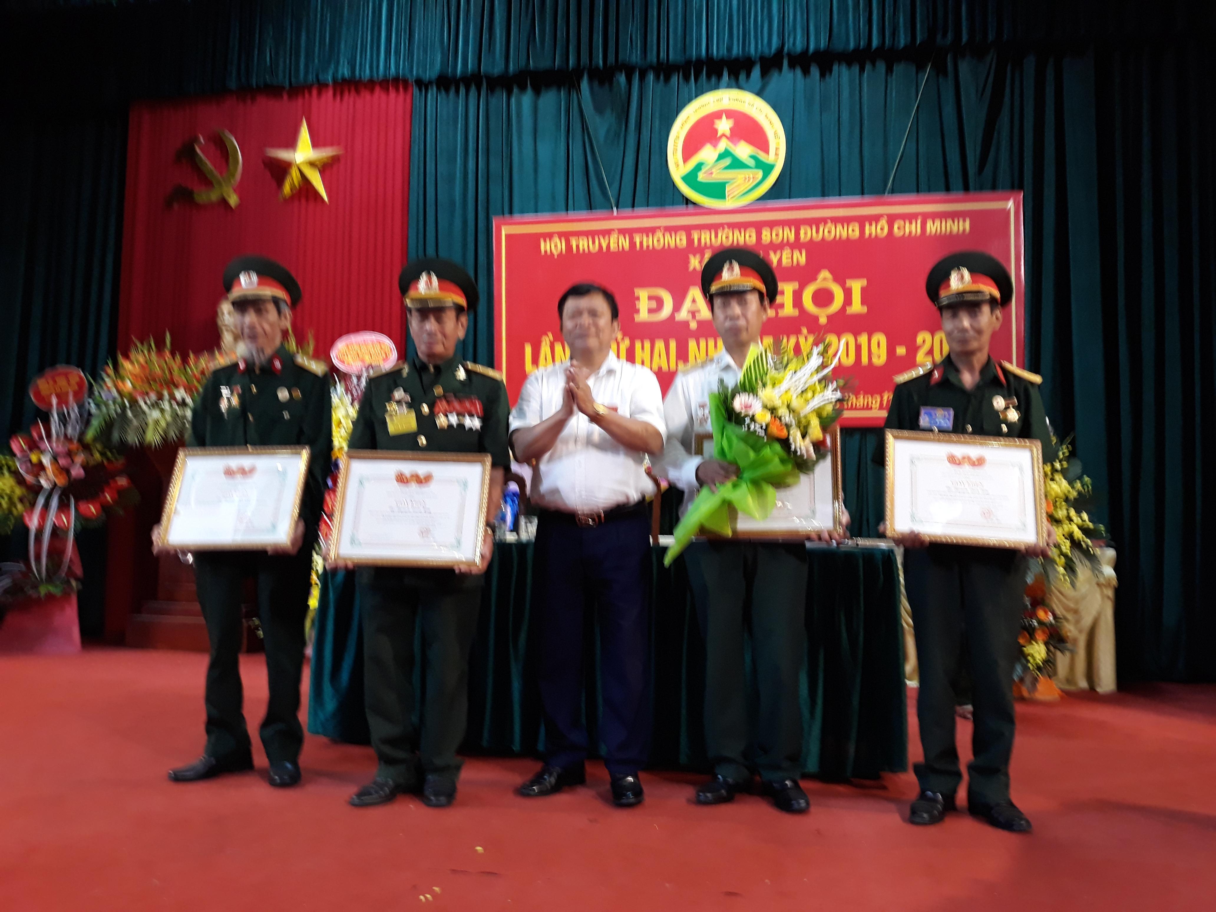 Đại hội lần 2 nhiệm kỳ 2019- 2024 Hội Trường Sơn xã Bình Yên