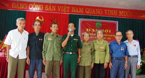 Đại hội nhiệm kỳ IV Hội cựu TNXP xã Hà Hải, huyện Hà Trung, tỉnh Thanh Hóa