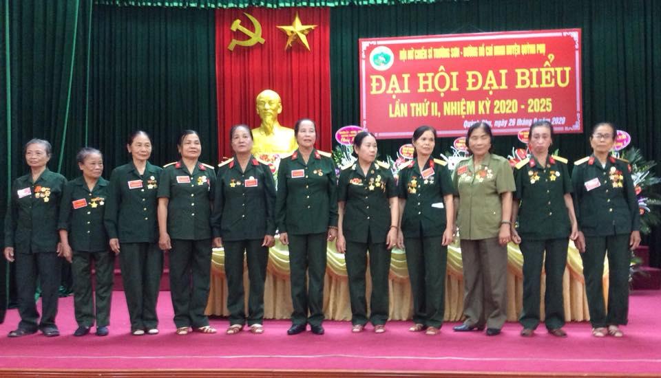 Đại hội Hội Nữ chiến sĩ Trường Sơn huyện Quỳnh Phụ lần thứ II ( nhiệm kỳ 2020 - 2025).