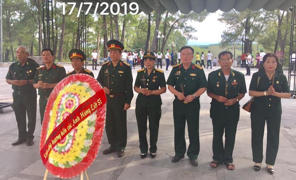 Hội T.Sơn Việt Nam hoạt động tri ân dịp 27/7 tại Quảng Trị
