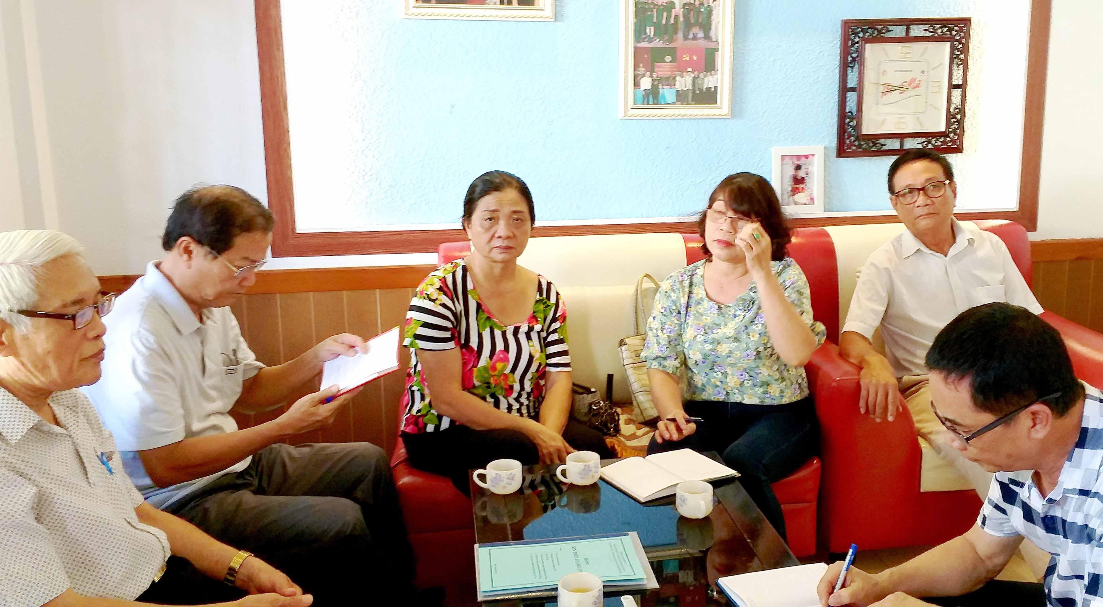 Hội TS Thừa Thiên Huế khắc phục bão lũ