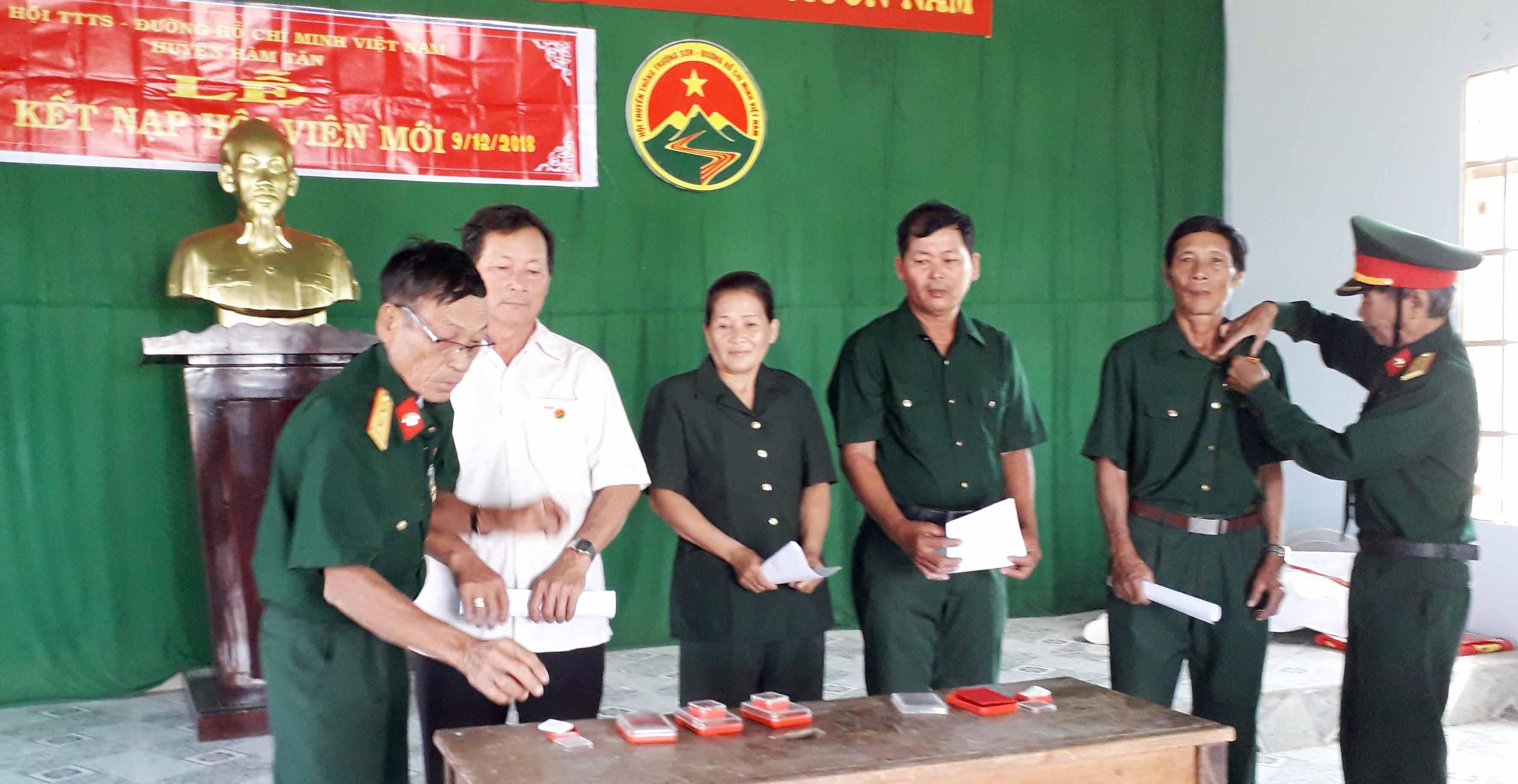 Hoạt động của Chi hội TS Hàm Tân những ngày giáp Tết