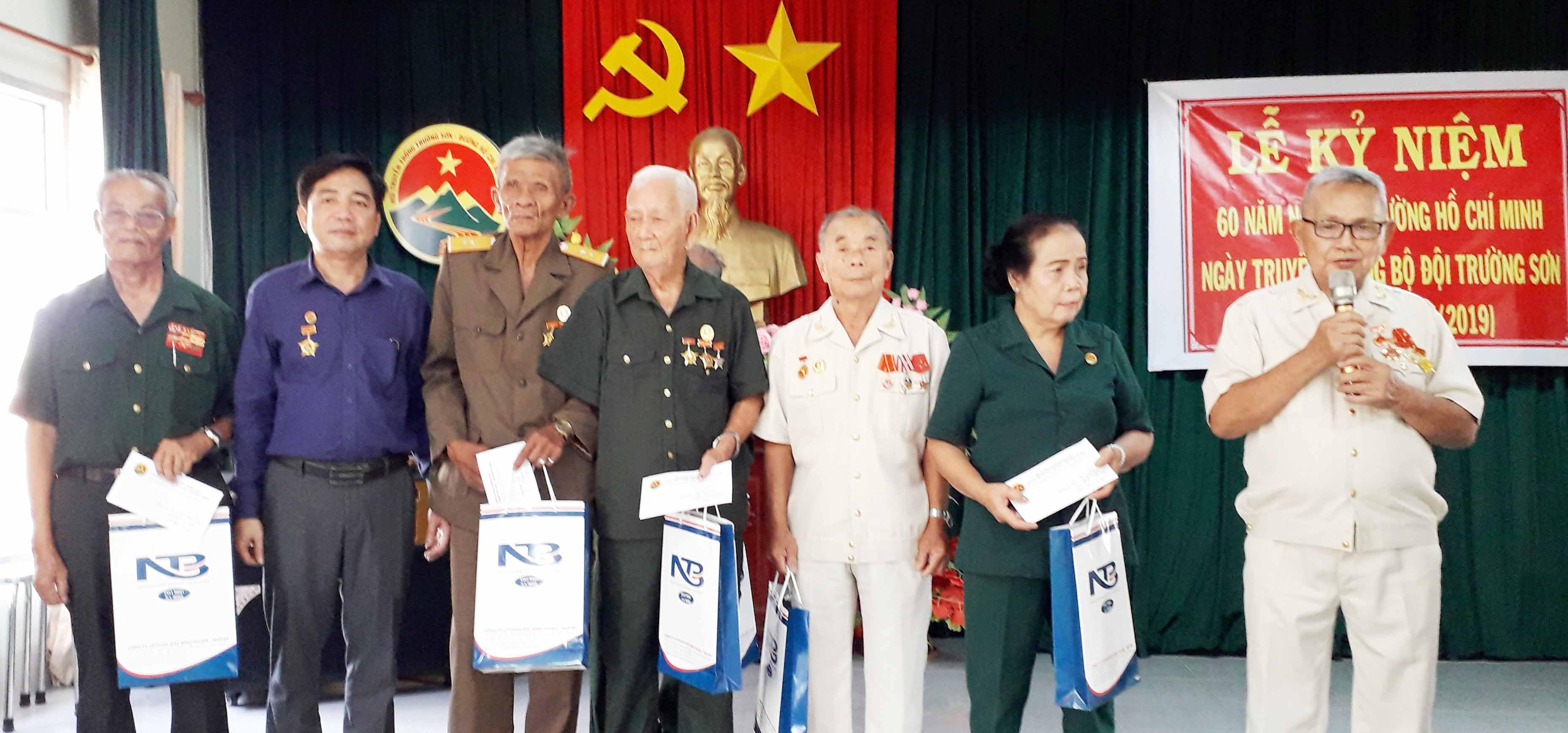 Hội TS Thị xã Lagi kỷ niệm 60 năm Trường Sơn