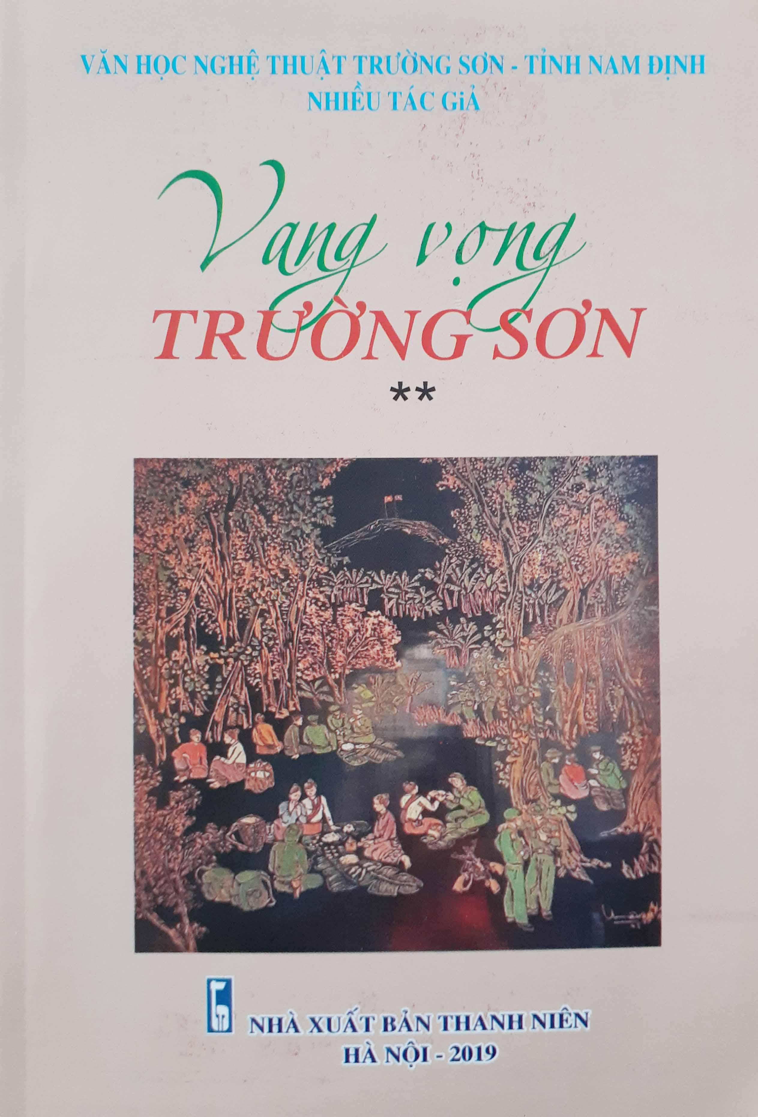 Vang vọng Trường Sơn - sách của VHNT Trường Sơn Nam Định