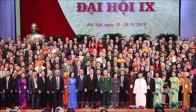 Chào mừng thành công Đại hội MTTQ Việt Nam