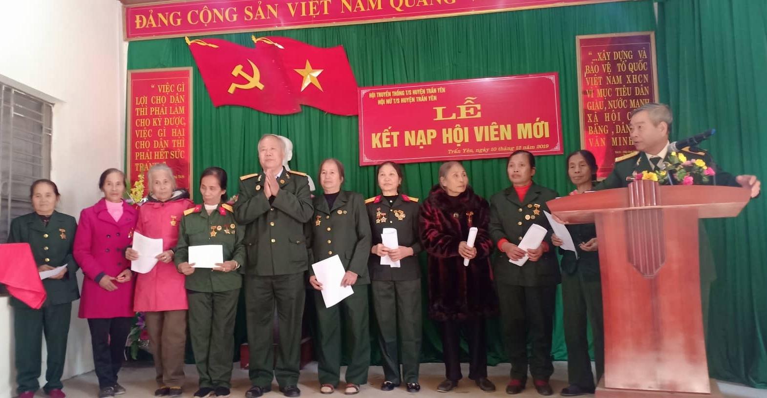 BLL Nữ CSTS huyện Trấn Yên Tổng kết 2019, triển khai hoạt động 2020 và kết nạp Hội viên mới