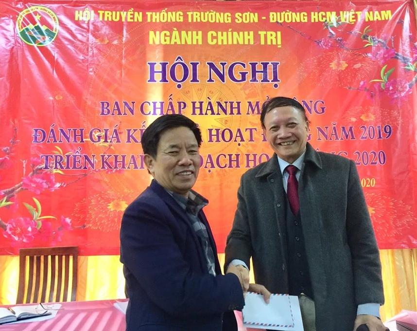 Hội Trường Sơn Ngành Chính trị Tổng kết năm 2019, bầu Chủ tịch và Phó Chủ tịch Hội