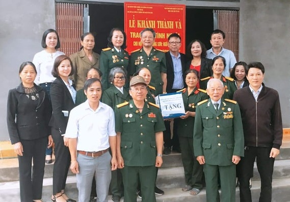 Hội Trường Sơn tỉnh Yên Bái cùng Nhà tài trợ khánh thành và trao nhà tình nghĩa cho Hội viên
