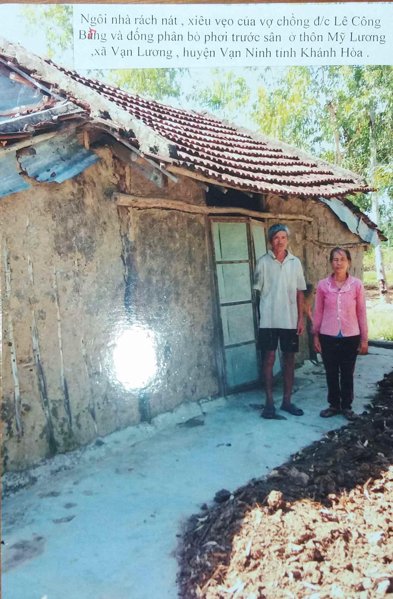 Hãy giúp đỡ hội viên Lê Công Bòng, Khánh Hòa