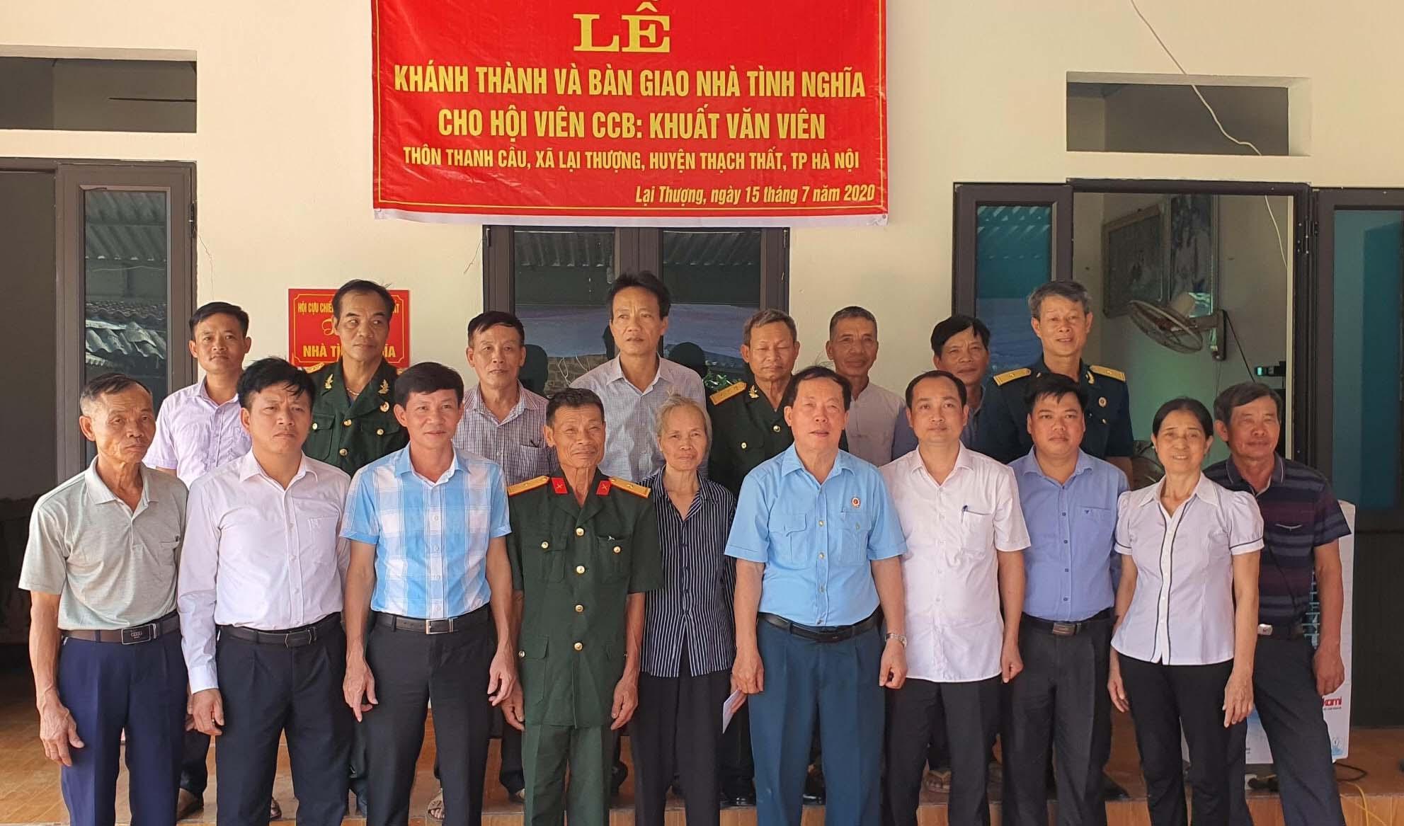 Hội CCB huyện Thạch Thất - Hà Nội Đoàn kết, giúp nhau phát triển kinh tế