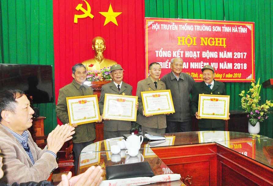 Hội TS Hà Tĩnh mở Hội nghị triển khai công tác 2018