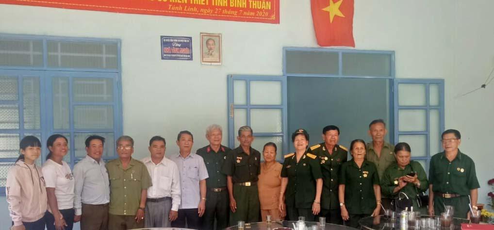 Hội Trường Sơn Bình Thuận bàn giao nhà tình nghĩa tại huyện Tánh Linh