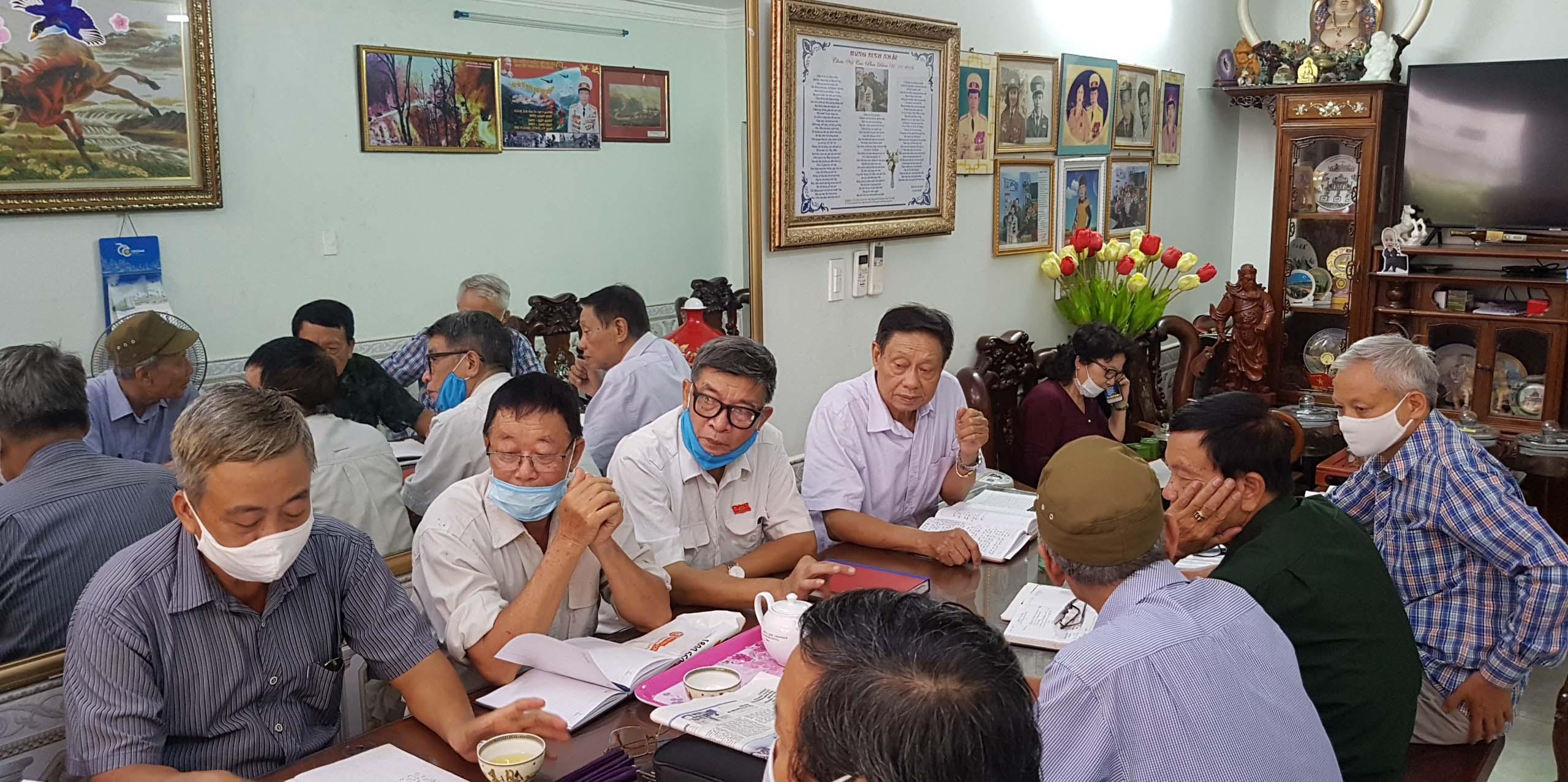 Hội Trường Sơn Hải Phòng họp các Ban chuyên môn triển khai nhiệm vụ 6 tháng cuối năm 2020