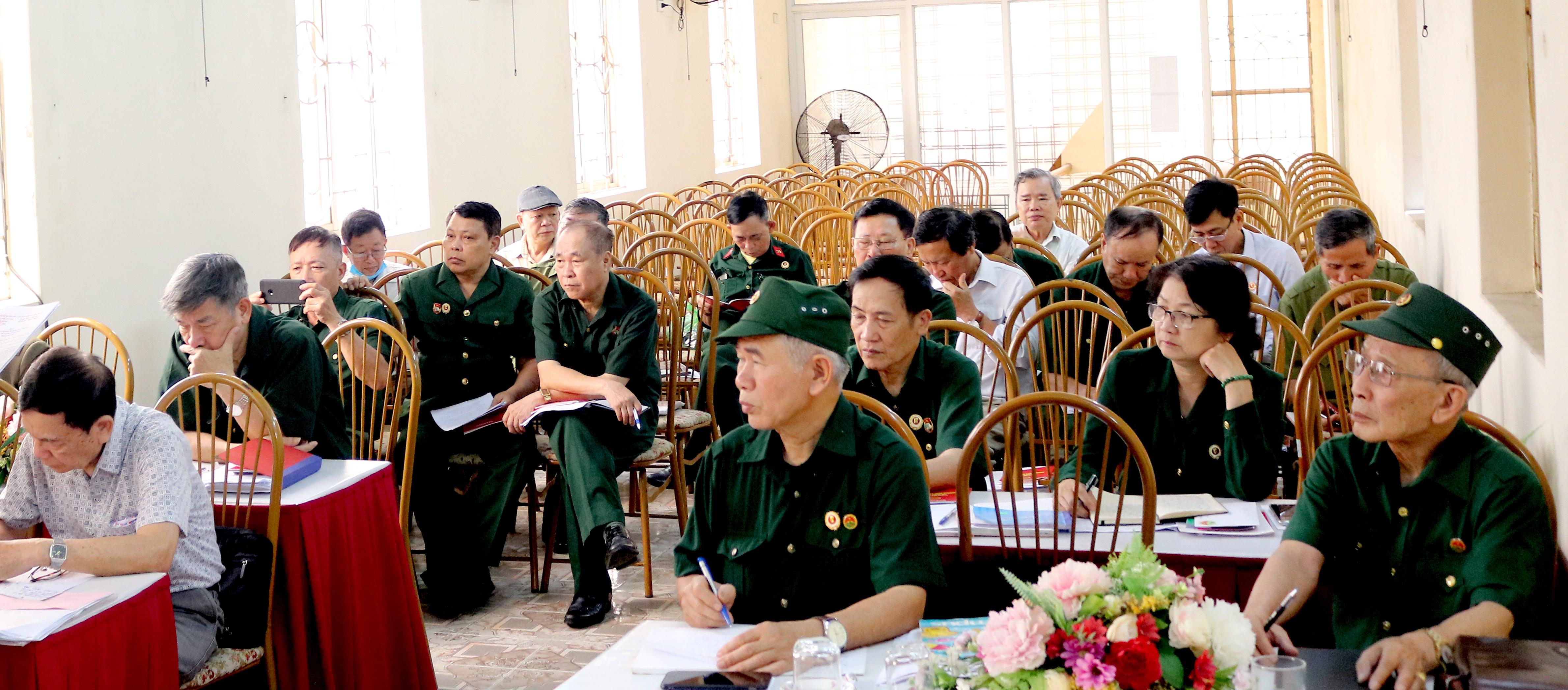 Hội nghị BCH Hội Trường Sơn thành phố Hải Phòng
