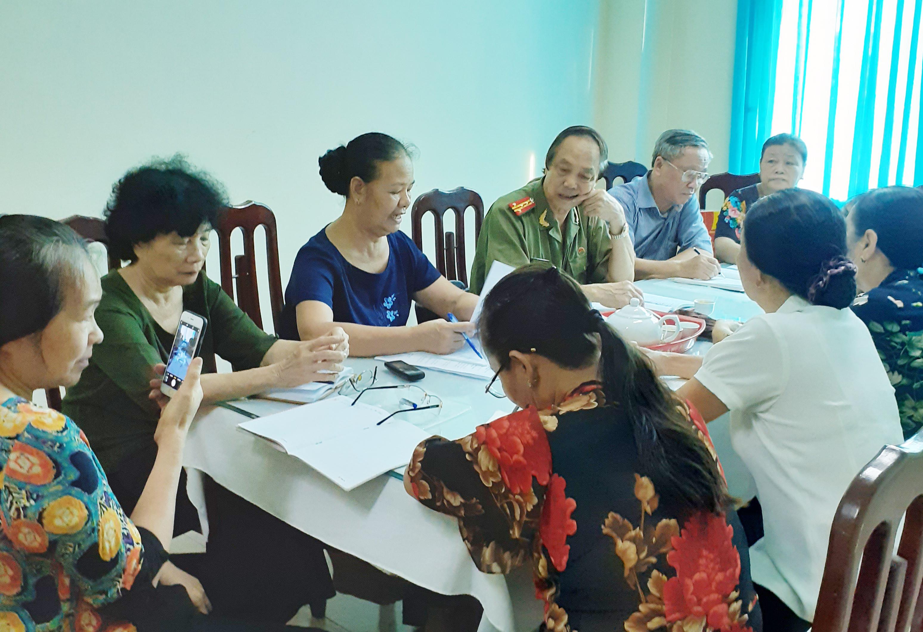 Tin hoạt động của Ban công tác nữ Chiến sĩ Trường Sơn tỉnh Hà Nam
