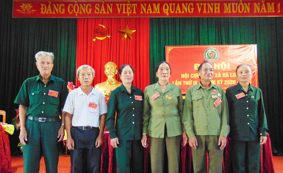 Đại hội nhiệm kỳ IV Hội Cựu TNXP xã Hà Long, Hà Trung, Thanh Hóa