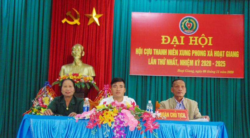 Đại hội nhiệm kỳ I Hội Cựu TNXP xã Hoạt Giang – Hà Trung – Thanh Hóa