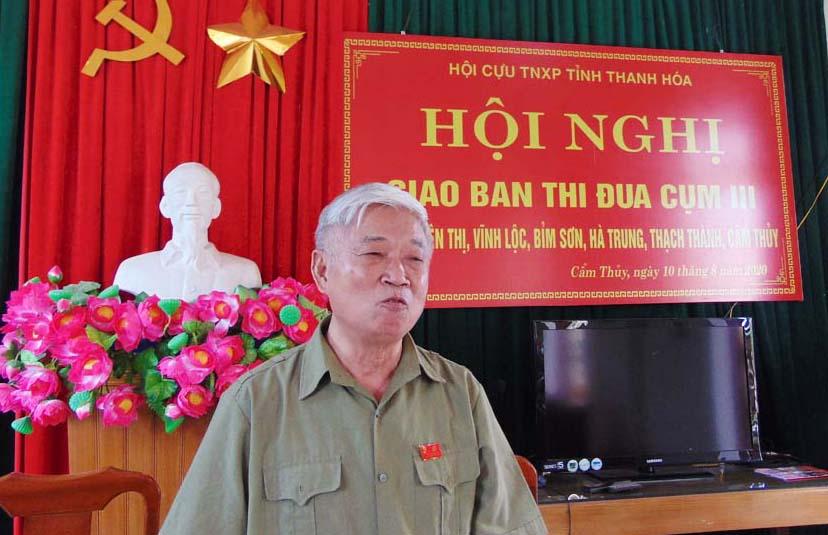 Hội nghị Cụm thi đua số 3 - Hội TNXP tỉnh Thanh Hóa