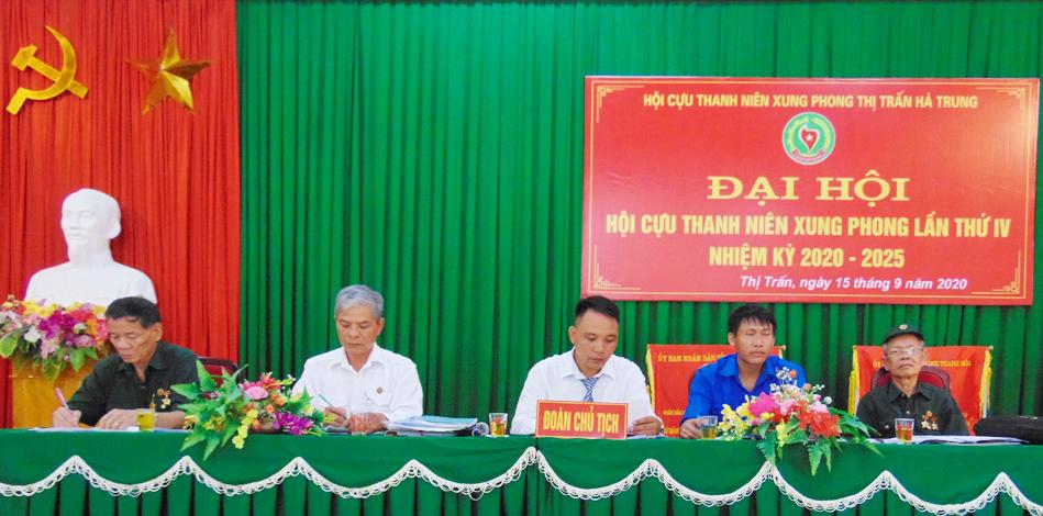 Đại hội nhiệm kỳ IV Hội cựu TNXP Thị trấn Hà Trung, huyện Hà Trung, tỉnh Thanh Hóa