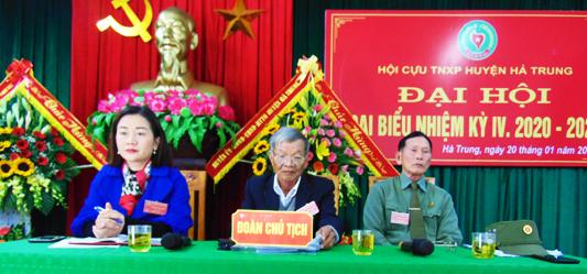 Hội Cựu TNXP huyện Hà Trung, Thanh Hóa. Đại hội lần thứ IV