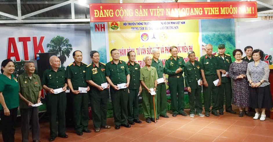 """Trung tâm hỗ trợ nhân đạo Trường Sơn về với đồng đội - Nơi """"Địa chỉ đỏ"""" An toàn khu Định Hóa, Thái Nguyên"""