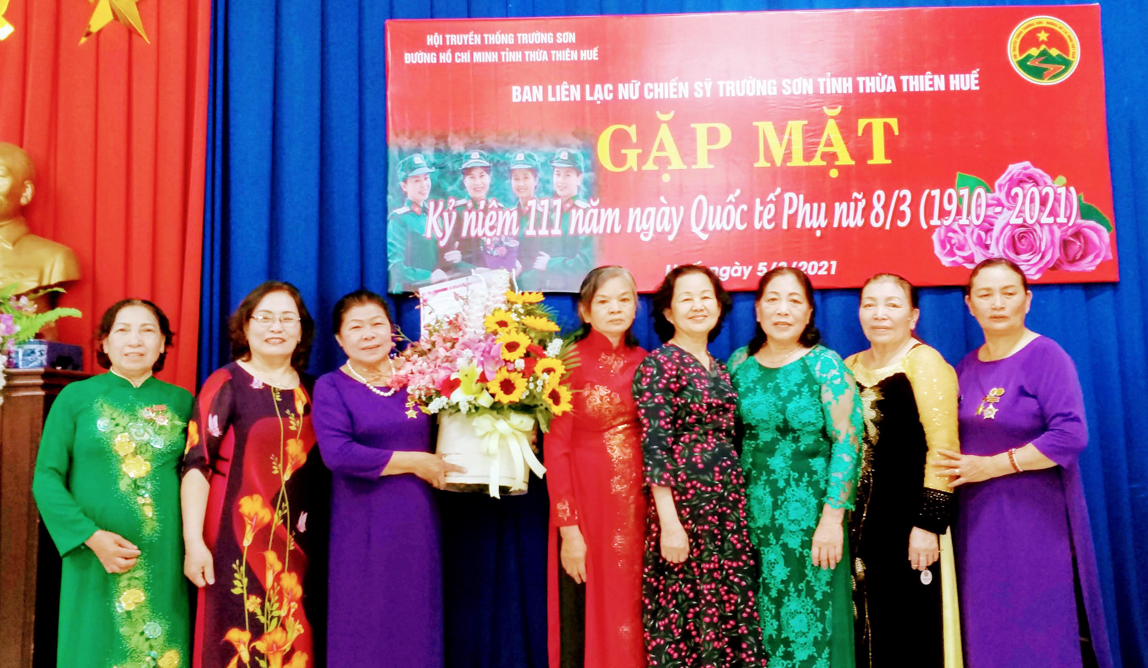 Gặp mặt Nữ CSTS tỉnh Thừa Thiên Huế nhân ngày Quốc tế Phụ nữ 08-3