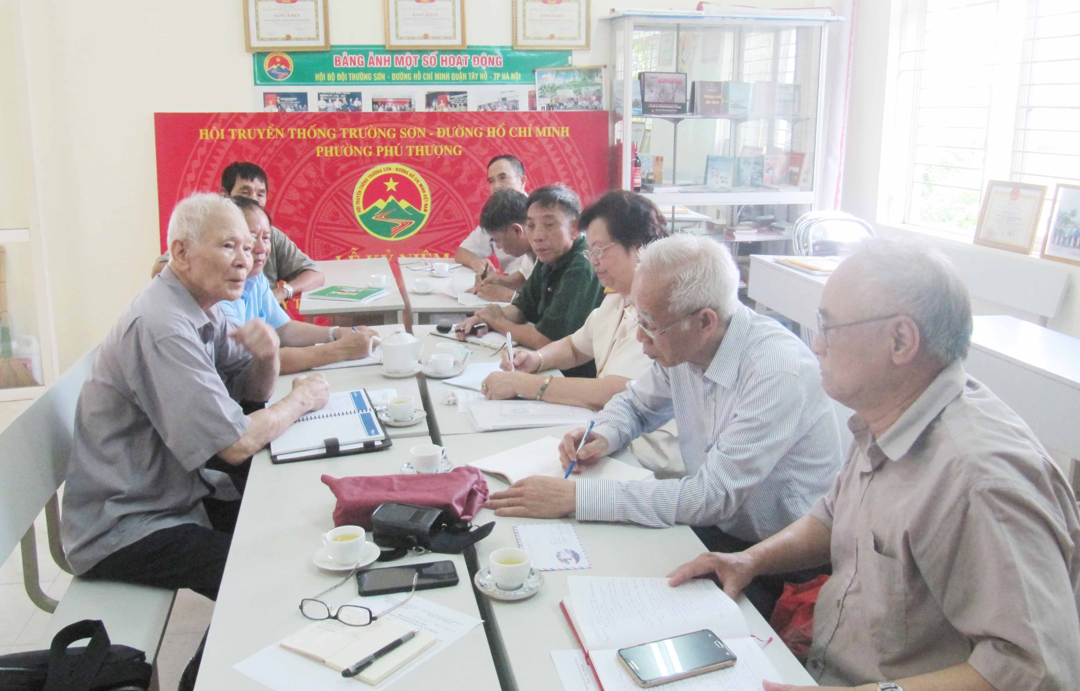 Hội nghị Quý III Ban Thường vụ Hội TS sư đoàn 471