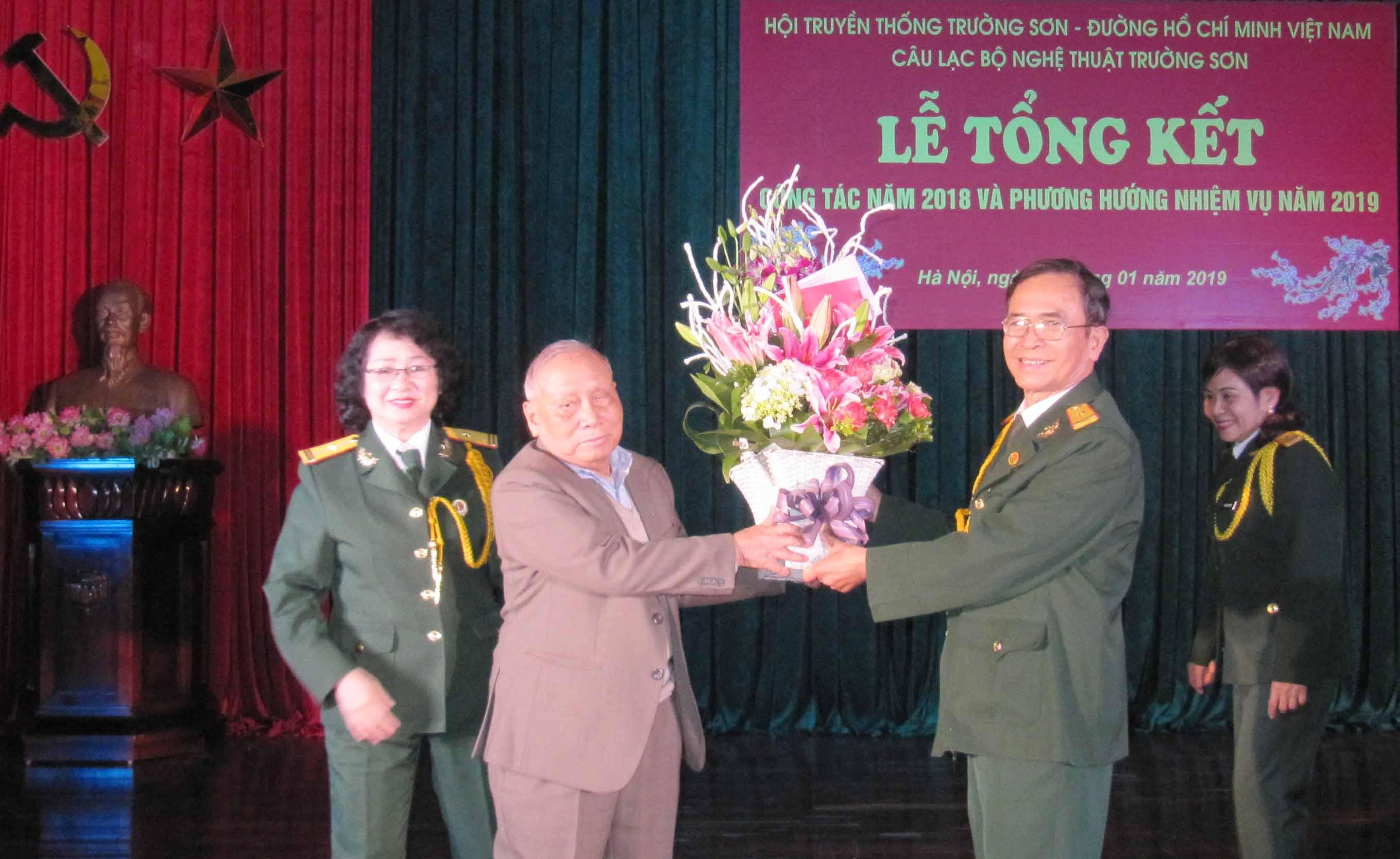 CLB Nghệ thuật Trường Sơn tổng kết hoạt động năm 2018