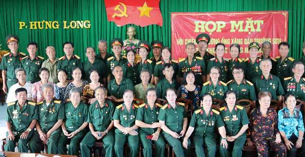 Họp mặt lính đường ống xăng dầu Miền Đông Nam Bộ