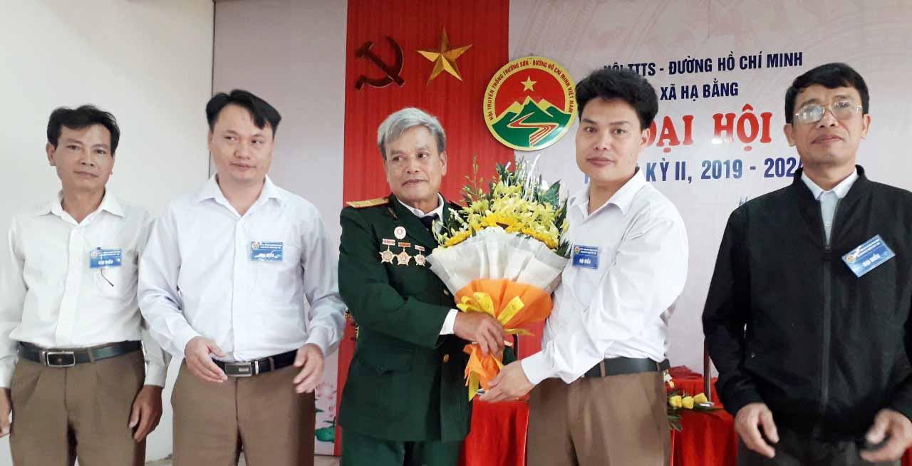 Đại hội nhiệm kỳ II Hội TS xã Hạ Bằng.