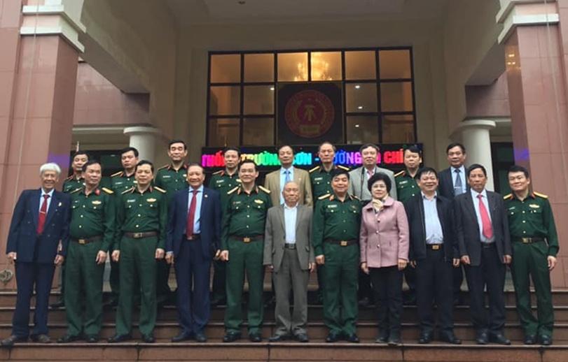 Hội Trường Sơn thăm và làm việc với Tổng cục Kỹ Thuật.