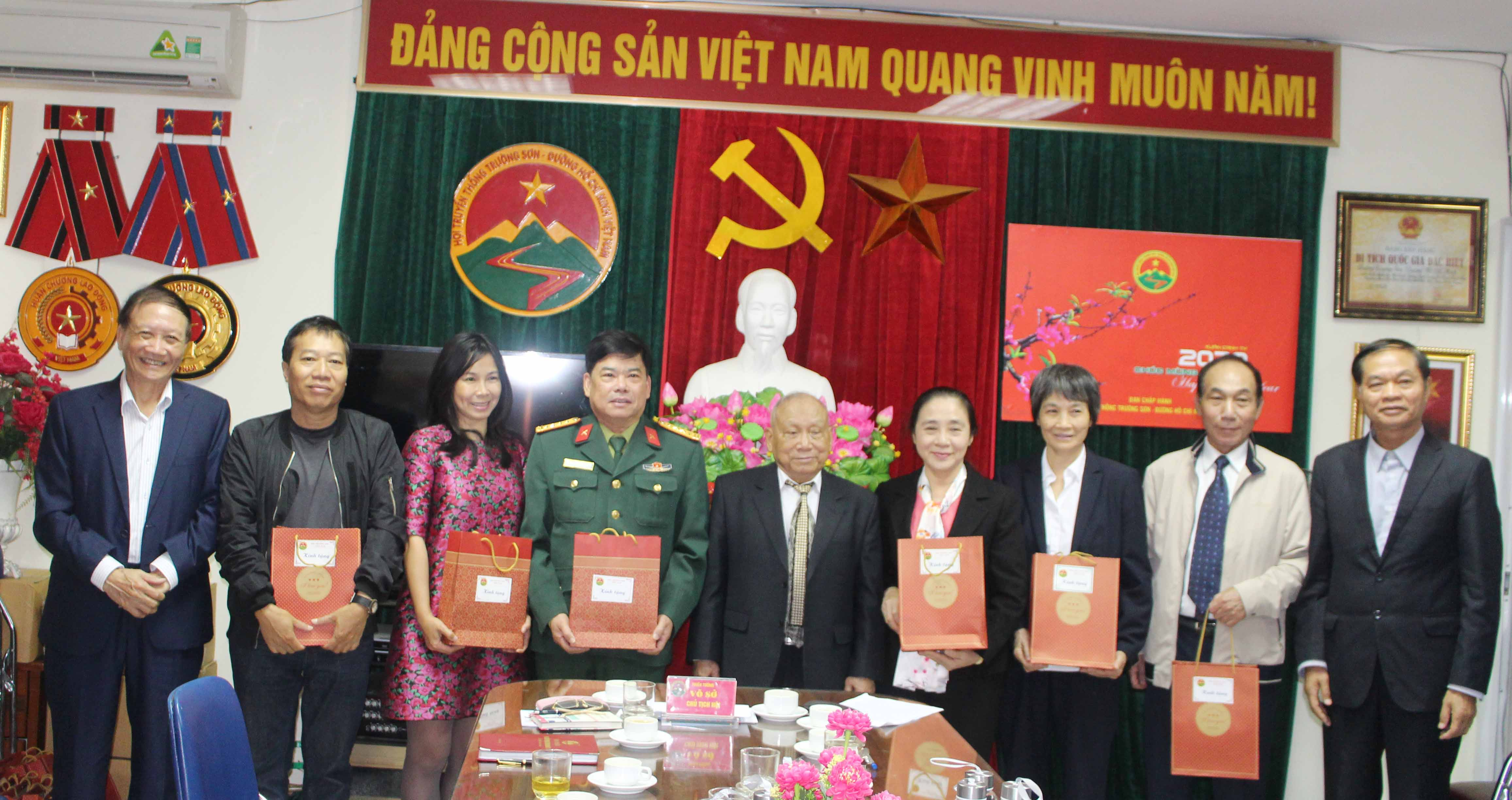 """Cơ quan Hội Trường Sơn VN """"mừng công"""""""