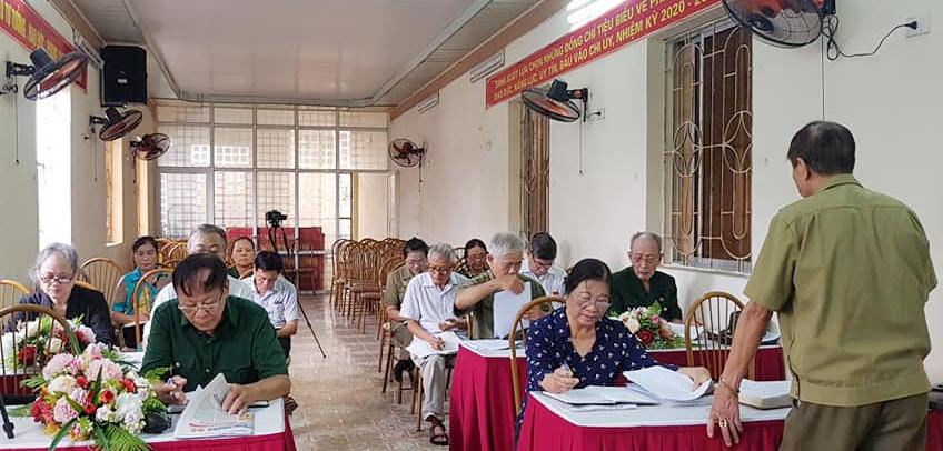 Hội nghị BCH Hội Trường Sơn TP Hải Phòng
