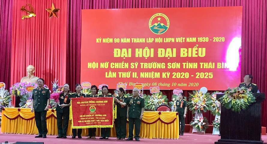 Chia sẻ niềm vui bên thềm Đại hội Nữ Chiến sỹ Trường Sơn tỉnh Thái Bình