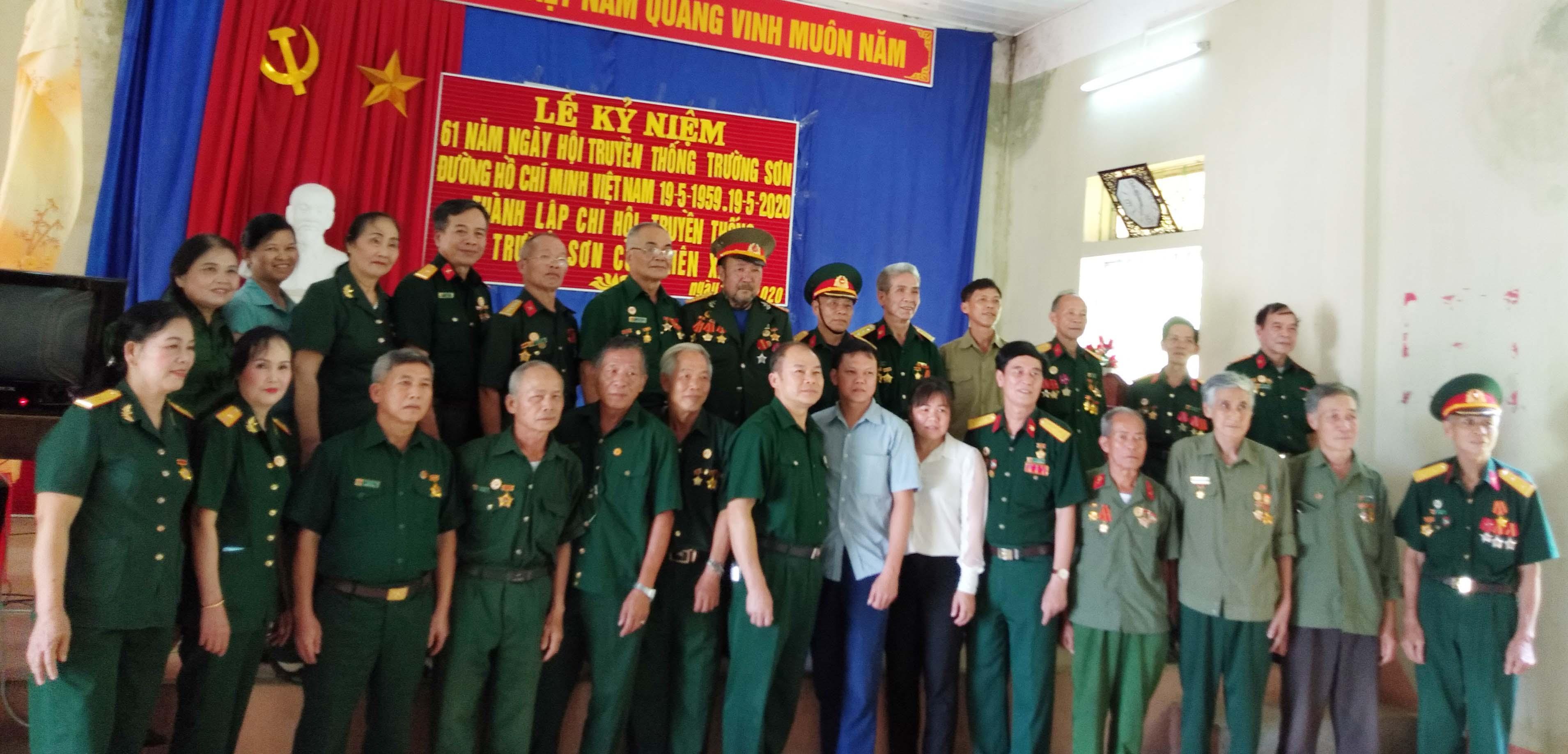 Tin hoạt động của Hội Trường Sơn tỉnh Cao Bằng