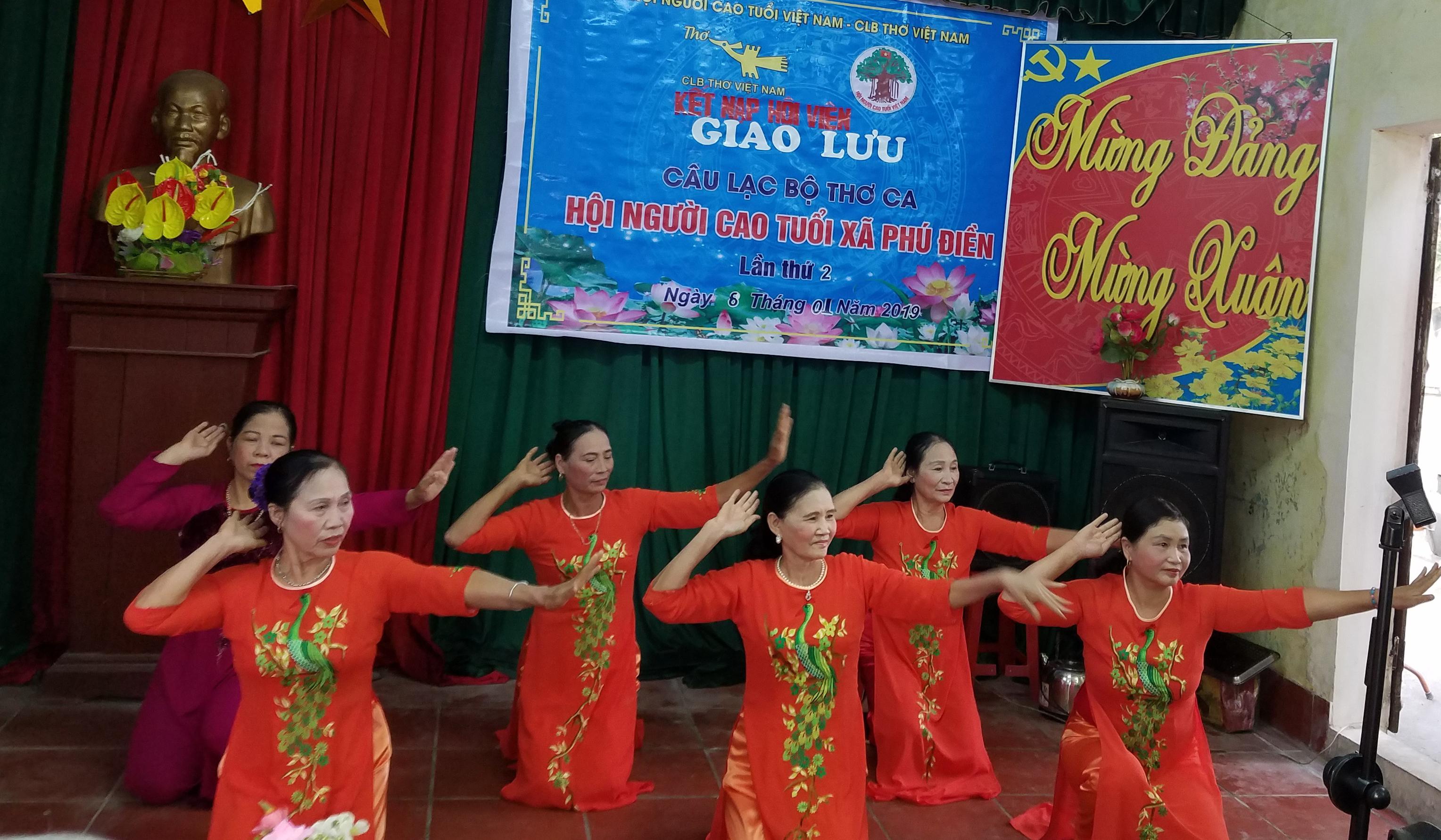 Hoạt động của CLB Thơ Người cao tuổi xã Phú Điền - Nam Sách - Hải Dương